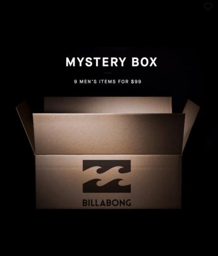 Billabong Men's Mystery Box – On Sale Now