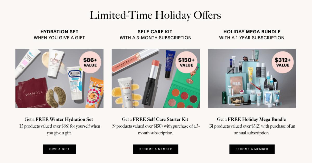Allure Beauty Box Black Friday Deals Subscription Box Ramblings