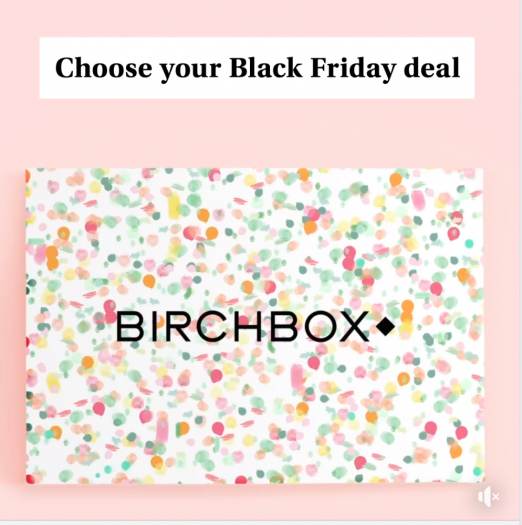 Birchbox Black Friday Deals – Discounts on Subscriptions PLUS choose a FREE gift!