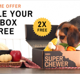 BarkBox Super Chewer Early Black Friday Coupon Code - Double Your First Box!