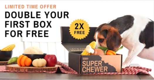 BarkBox Super Chewer Early Black Friday Coupon Code – Double Your First Box!