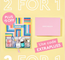 Birchbox Black Friday Coupon - Free Bonus Box + $5 Off New Subscriptions