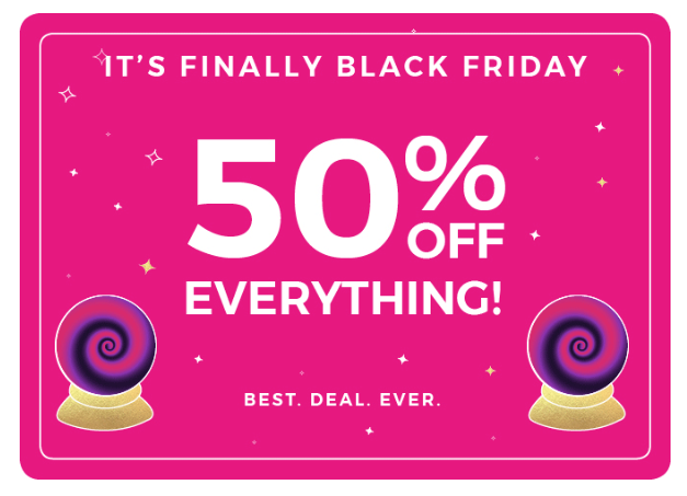 Fabletics Black Friday Sale – 50% off Everything!!