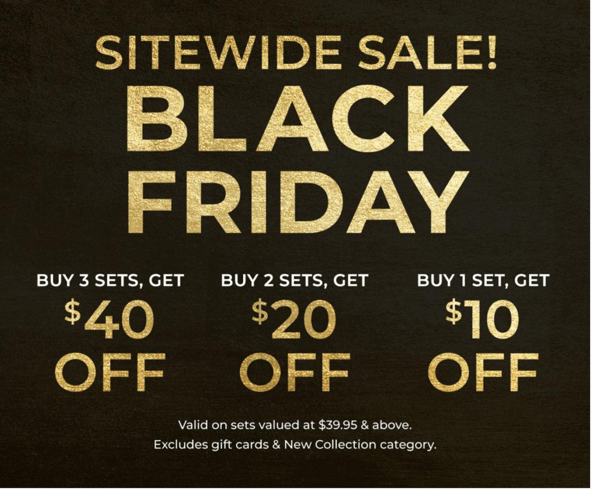 Adore Me Black Friday Sale – Save Up to $40 + BOGO Sets!