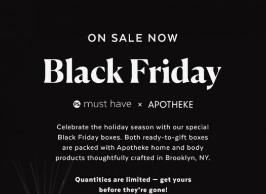 Apotheke Black Friday
