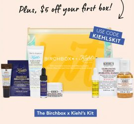 Birchbox - Free The Birchbox x Kiehl's Kit with New 6-Month Subscription!