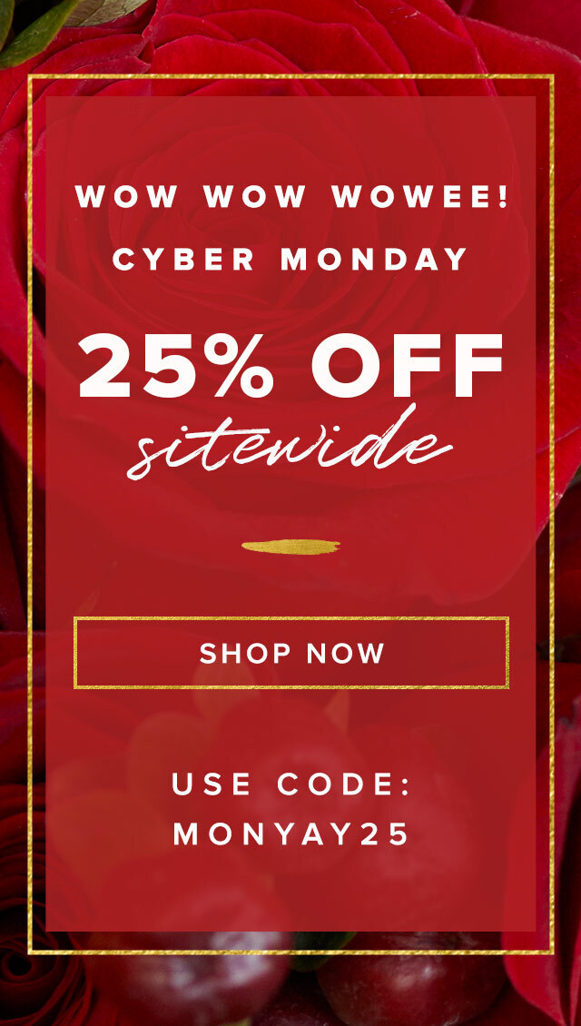 The Bouqs Cyber Monday Sale – Save 25%!