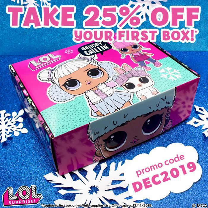 L.O.L. Surprise Box Winter 2019 Box – Save 25%