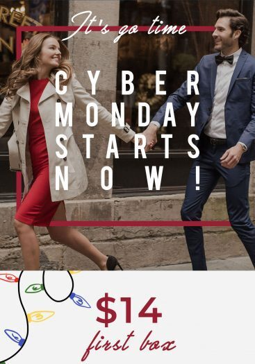 SprezzaBox Cyber Monday Sale – Save 50%!