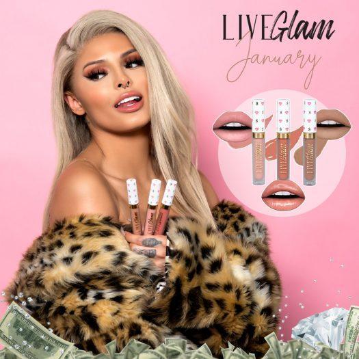 LiveGlam KissMe January 2020 Full Spoilers