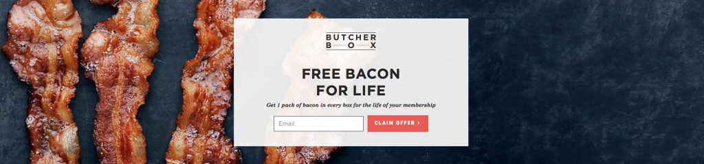 Butcher Box Early Cyber Monday Sale - FREE BACON for Life