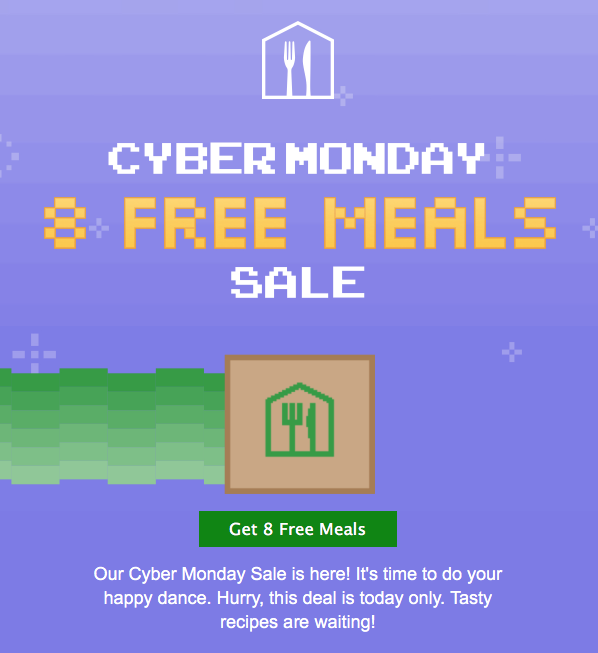 Home Chef Cyber Monday Sale – Save $90!