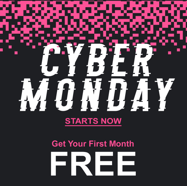 Scentbird Cyber Monday Sale – First Month FREE!