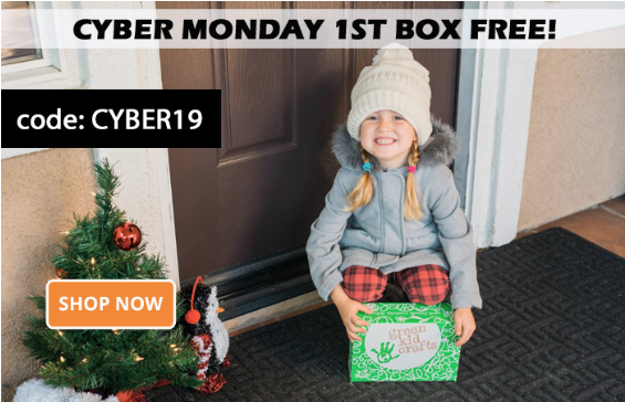 Green Kid Crafts Cyber Monday Sale – Get Your First Month FREE!