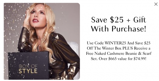 Box of Style by Rachel Zoe Holiday Sale - Save $25 + Free Gift!