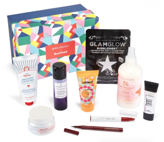 Birchbox Limited Edition: BuzzFeed x Birchbox Splurge-Worthy Box – On Sale Now + Coupon Codes!