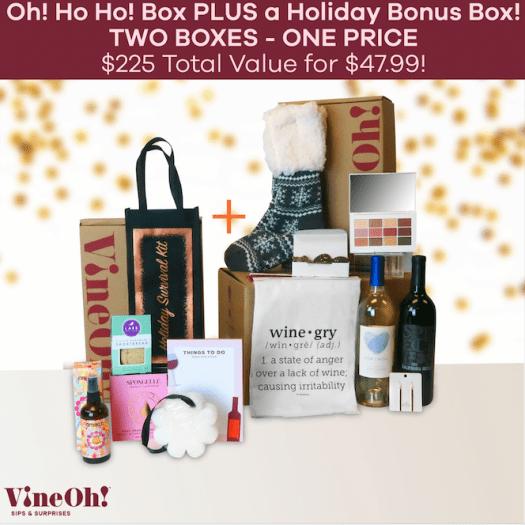 Vine Oh! Box Coupon Code - Free Bonus Box!