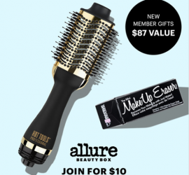 Allure Beauty Box - Free Hot Tools Styler and Makeup Eraser ($87 Value!) + First Box for $10!!