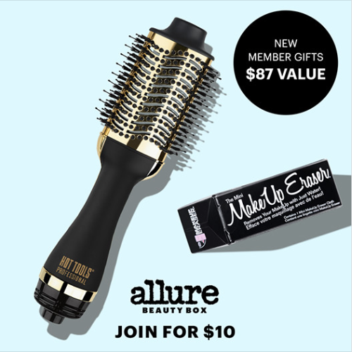 LAST CALL! Allure Beauty Box – Free Hot Tools Styler and Makeup Eraser ($87 Value!) + First Box for $10!!