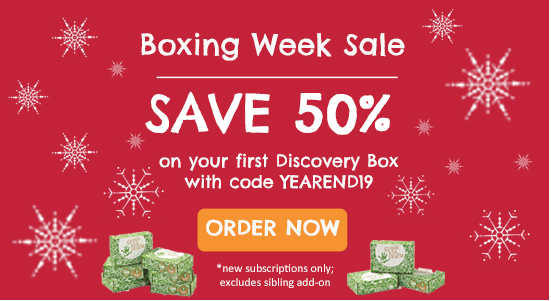 Green Kid Crafts Boxing Day – 50% Off First Box!