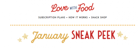 Love With Food January 2020 Spoilers