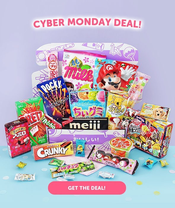 Japan Candy Box Cyber Monday Sale – Save $5 + Get $20 Gift Card