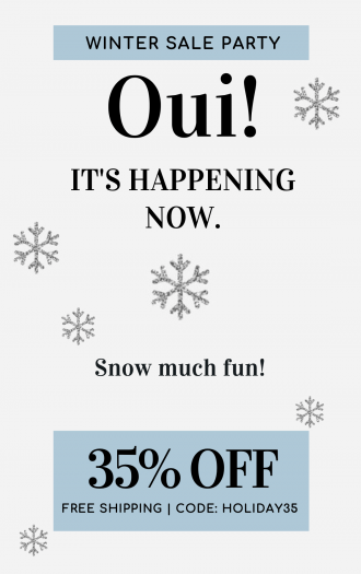 Oui Please Holiday Sale – Save 35% Subscriptions!