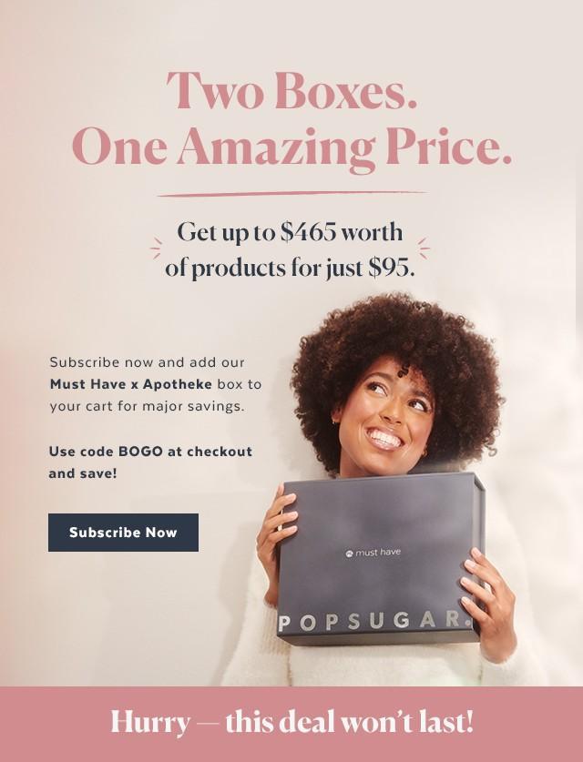 POPSUGAR Must Have Box – BOGO Sale!