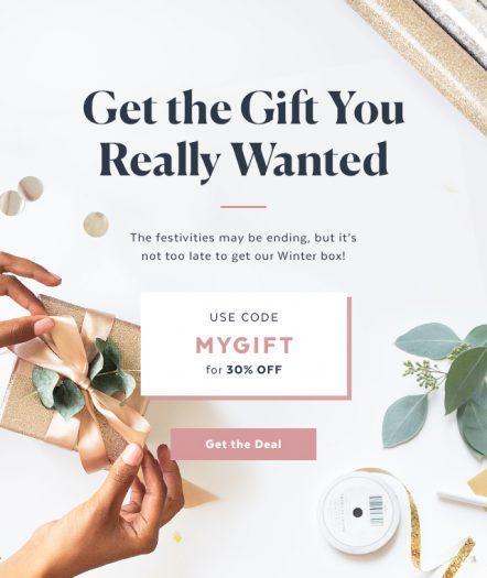POPSUGAR Must Have Box – Save 30% off the Winter Box