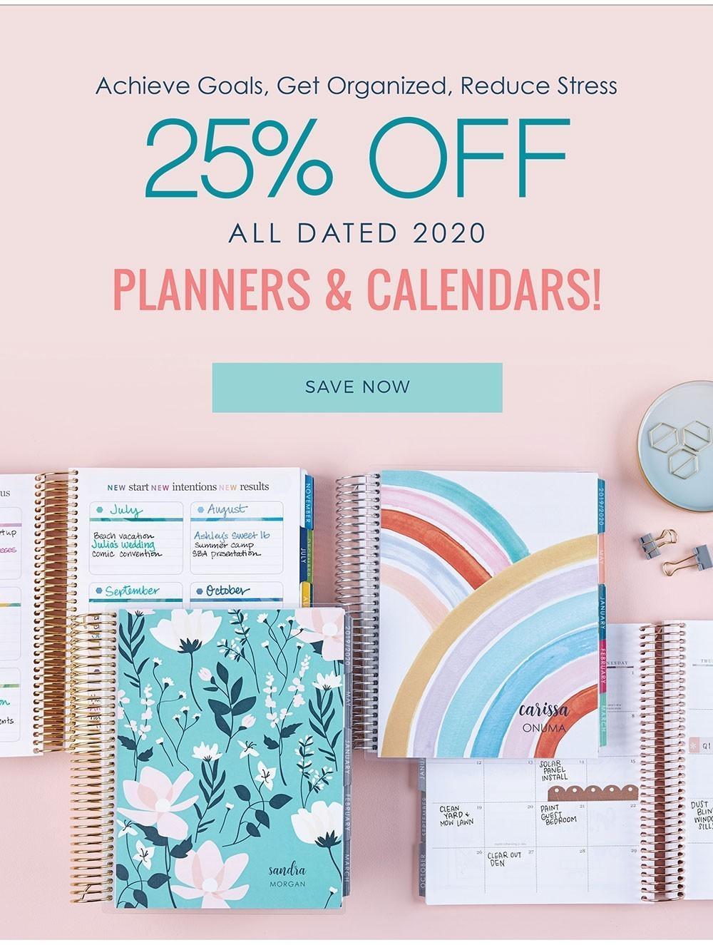 Erin Condren Sale – Save 25% off Life Planners!
