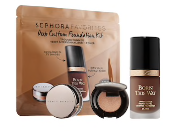 SEPHORA Favorites -Deep Customizable Foundation Set with Too Faced Born This Way Foundation – On Sale Now