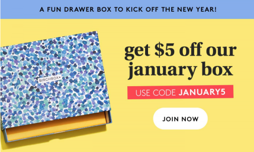 Birchbox Coupon – Save $5 Off Your First Box