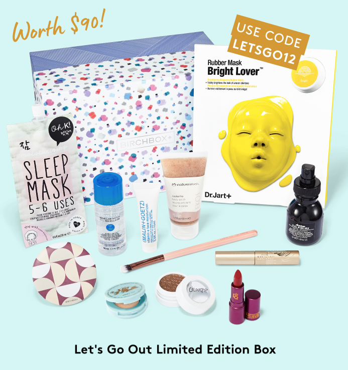 Birchbox Coupon Code – Free Limited Edition with Annual Subscription