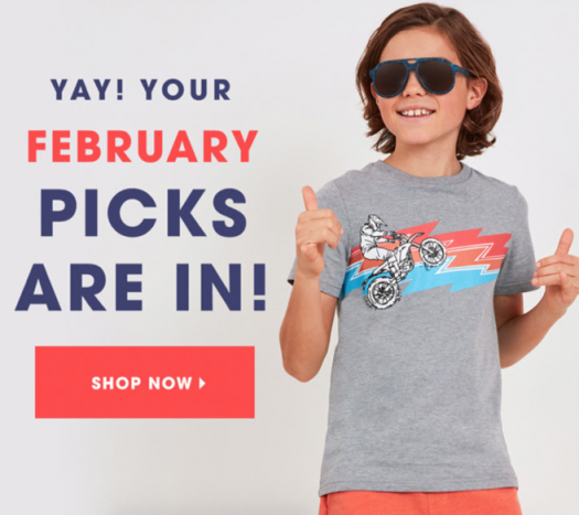 February 2020 FabKids Selection Time + New Subscriber Offer