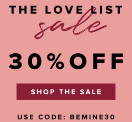 The Bouqs Valentine's Day Sale - 30% Off Sitewide!
