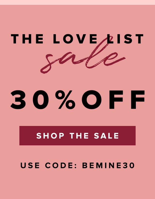 The Bouqs Valentine's Day Sale – 30% Off Sitewide!