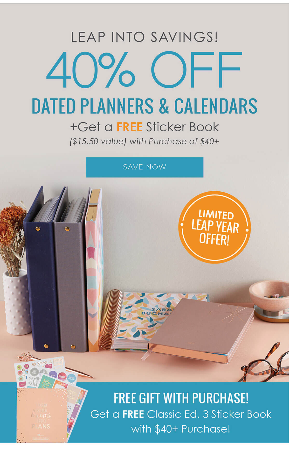 Erin Condren Sale – Save 40% off 2020 Dated Planners + Free Gift!