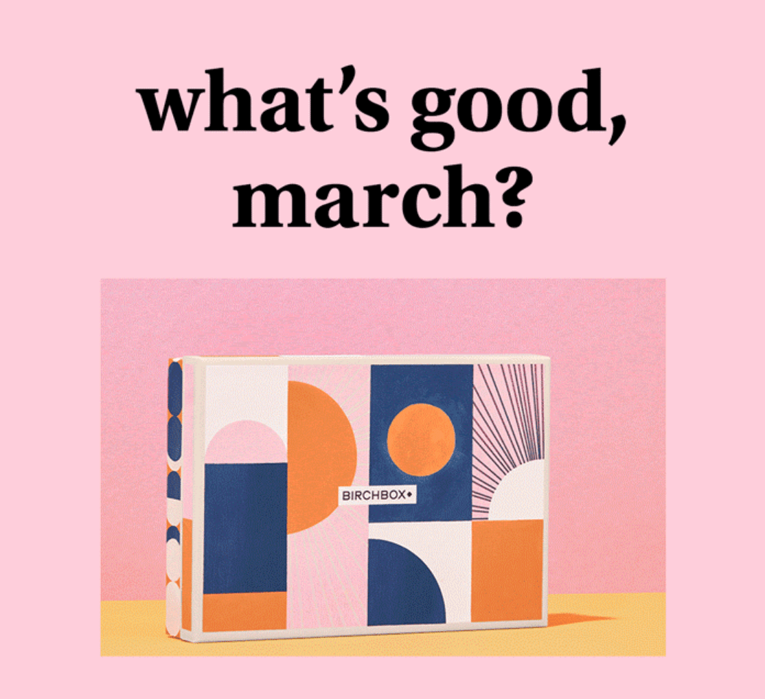 Birchbox March 2020 Sample Choice & Curated Box Reveals