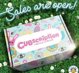 Cubscription Box by Build-A-Bear Spring 2020 Theme Reveal