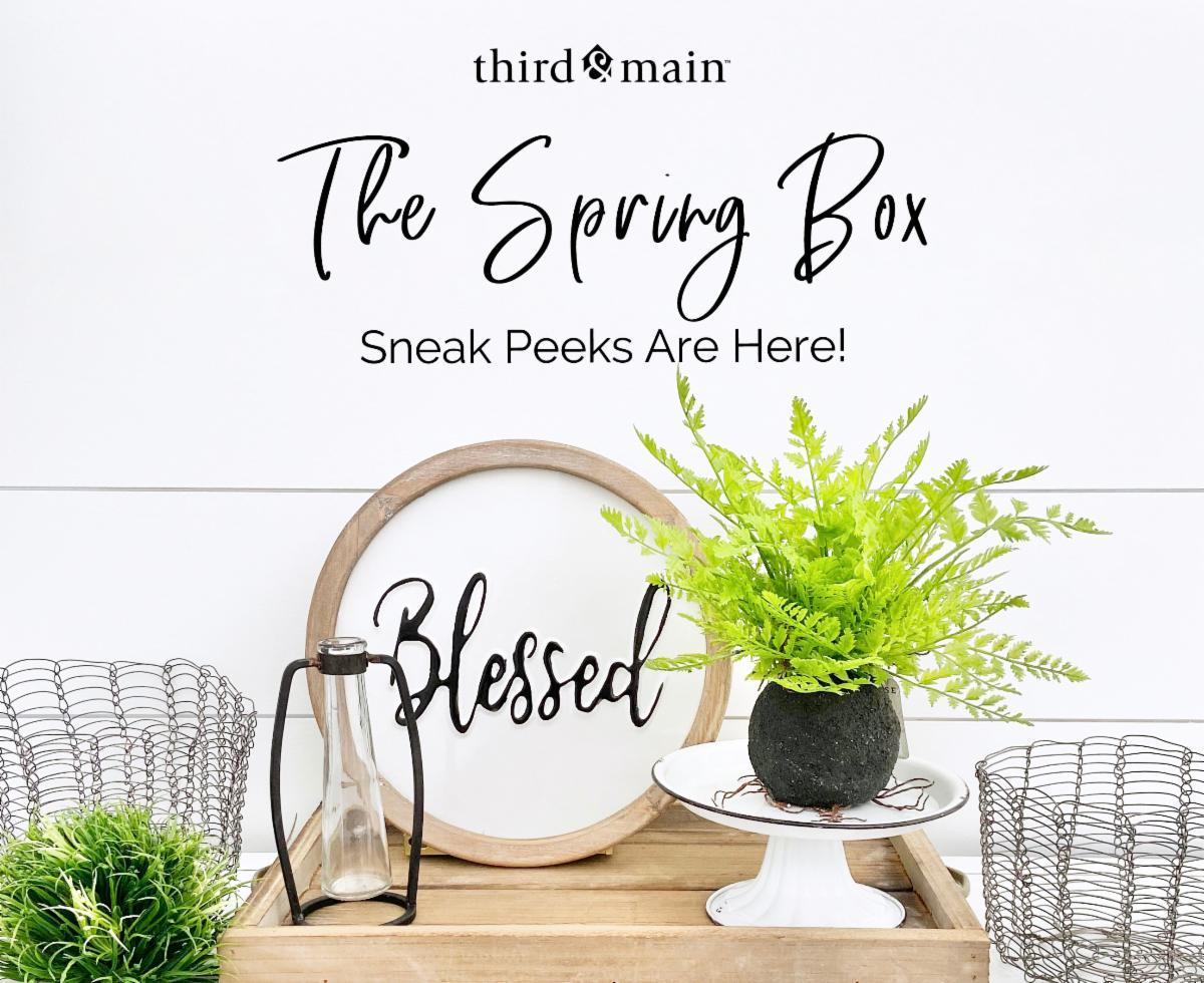 Third & Main Spring 2020 Box Spoilers