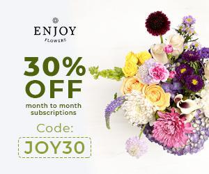 Enjoy Flowers Sale – Save 30%!