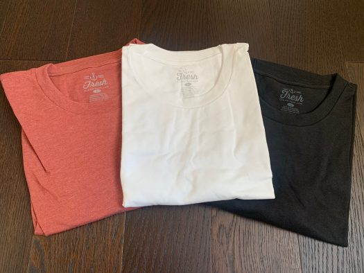 Fresh Clean Tees Shirt Club Review - March 2020