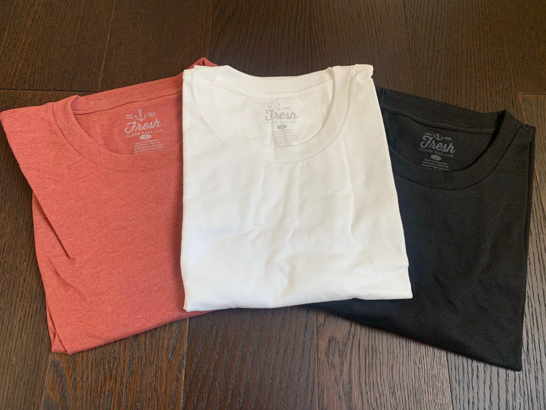 Fresh Clean Tees Shirt Club Review – March 2020