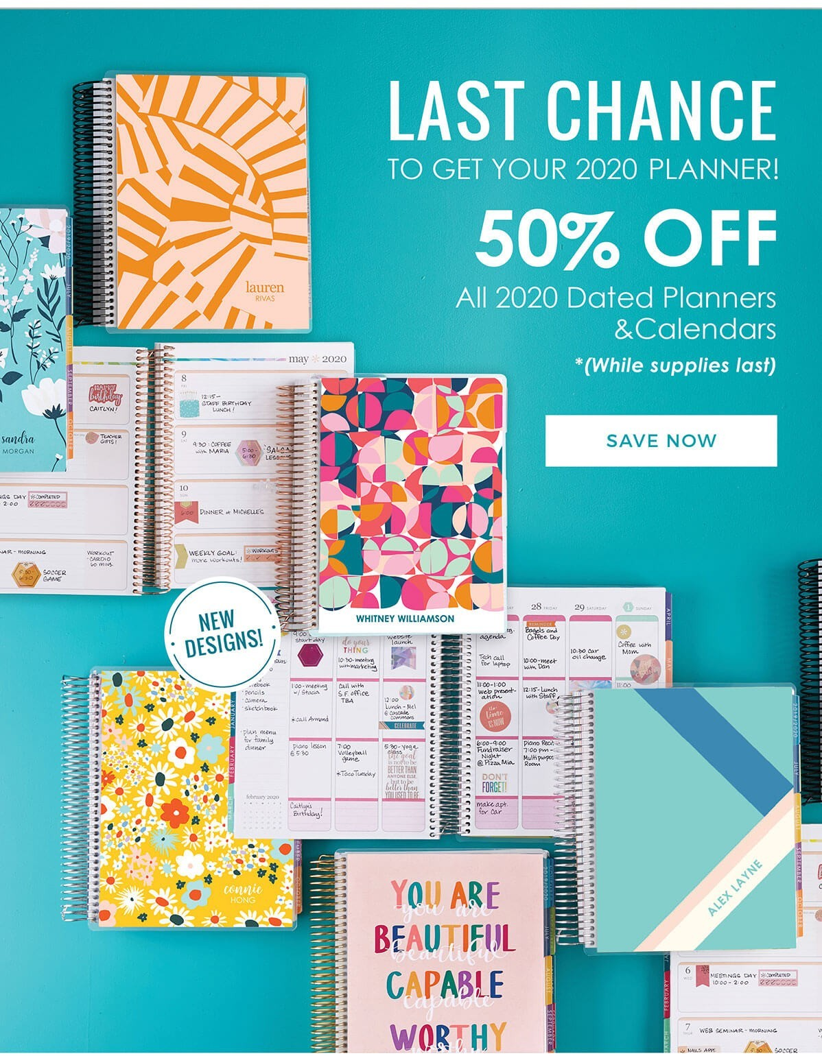 Erin Condren Sale – Save 50% off 2020 Dated Planners