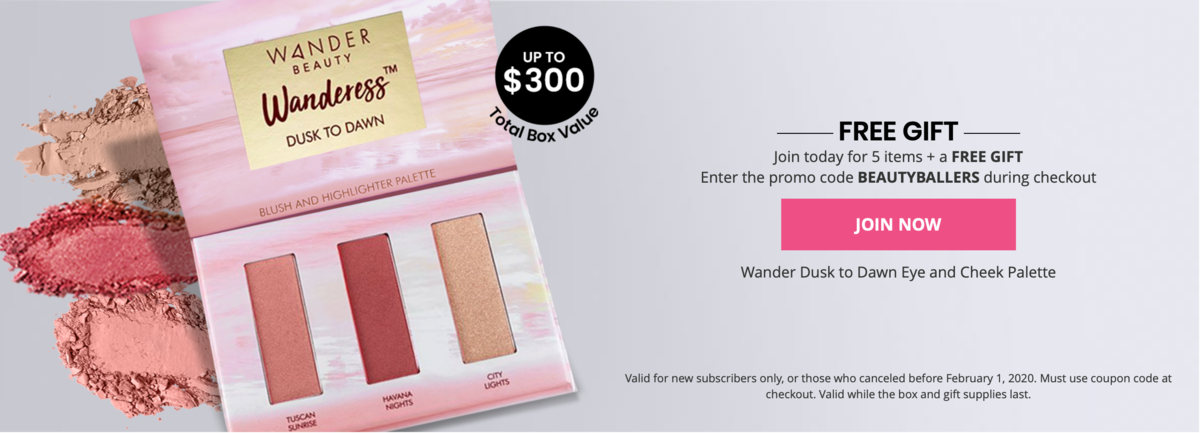 BOXYCHARM Free Gift With New Subscriptions!