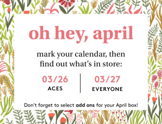 Birchbox April 2020 Sample Choice & Curated Box Reveals