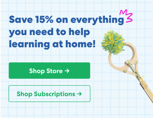 STILL AVAILABLE: KiwiCo Learn At Home Sale – Save 15% Off Everything