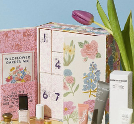 Anthropologie Mother's Day Beauty Blooms Gift Set Advent Calendar - On Sale Now!