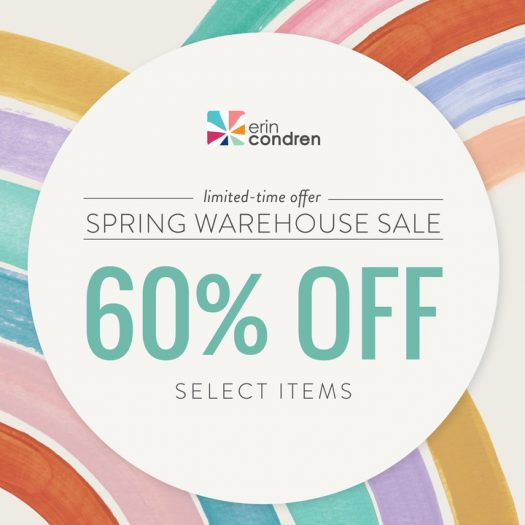 Erin Condren Warehouse Save - Save 60% Off Select Items