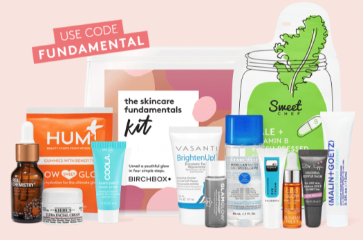 Birchbox Coupon Code – Free Birchbox Good Skincare Fundamentals Kit with 6-Month Subscription